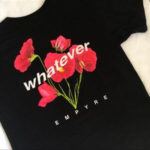 Empyre - whatever floral shirt